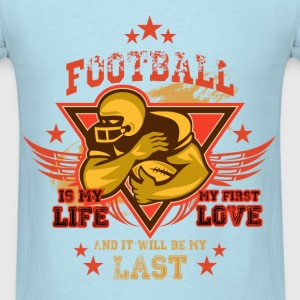 Football - First love - Men's T-Shirt