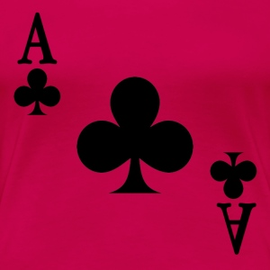 Ace of Clubs - Women's Premium T-Shirt