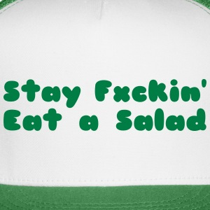 funny, humor, sex, salad, vegan, fitness, foodie,  - Trucker Cap