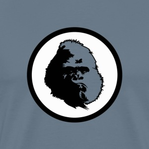 Retro Gorilla Colorfast - Men's Premium T-Shirt