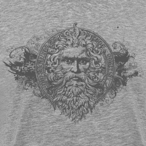 Face of Neptune 2 T-Shirts - Men's Premium T-Shirt