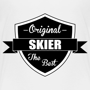 Skiing Snowboarding Ski Snowboard Winter Sport Baby & Toddler Shirts - Toddler Premium T-Shirt