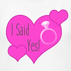 Women's Maternity T-Shirt   I Said Yes