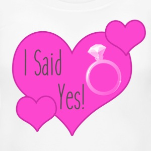 Women's Maternity T-Shirt   I Said Yes - Women's Maternity T-Shirt