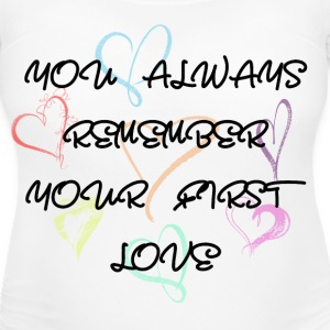 Women's Maternity T-Shirt   First Love  - Women's Maternity T-Shirt