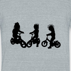 dreadlock_children01.png T-Shirts - Unisex Tri-Blend T-Shirt by American Apparel