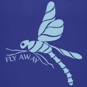 dragonfly fly away black Baby & Toddler Shirts - Toddler Premium T-Shirt