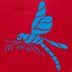 dragonfly fly away black Caps - Bandana