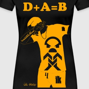 Female Golden Edition DAB - Women's Premium T-Shirt