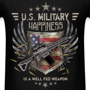 Military - Happiness - Men's T-Shirt
