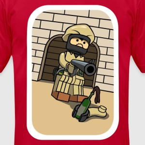 CSGO LEGO Douche - Men's T-Shirt by American Apparel