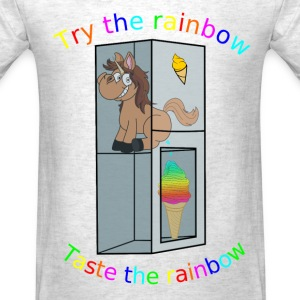 Try the Rainbow Unicorn - Men's T-Shirt
