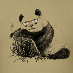 Panda with glasses T-Shirts