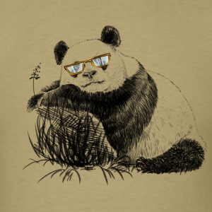 Panda with glasses T-Shirts - Men's T-Shirt