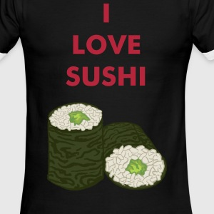 Sushi Maki Avocado T-Shirts - Men's Ringer T-Shirt
