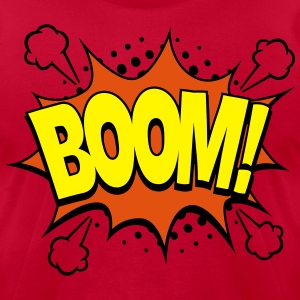 Comic Boom! T-Shirts - Men's T-Shirt by American Apparel