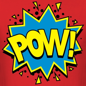 POW! Comic Style T-Shirts - Men's T-Shirt