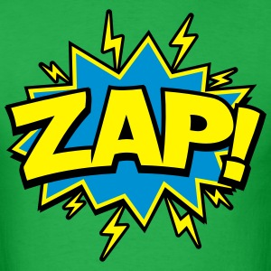 Zap! Comic Stye T-Shirts - Men's T-Shirt