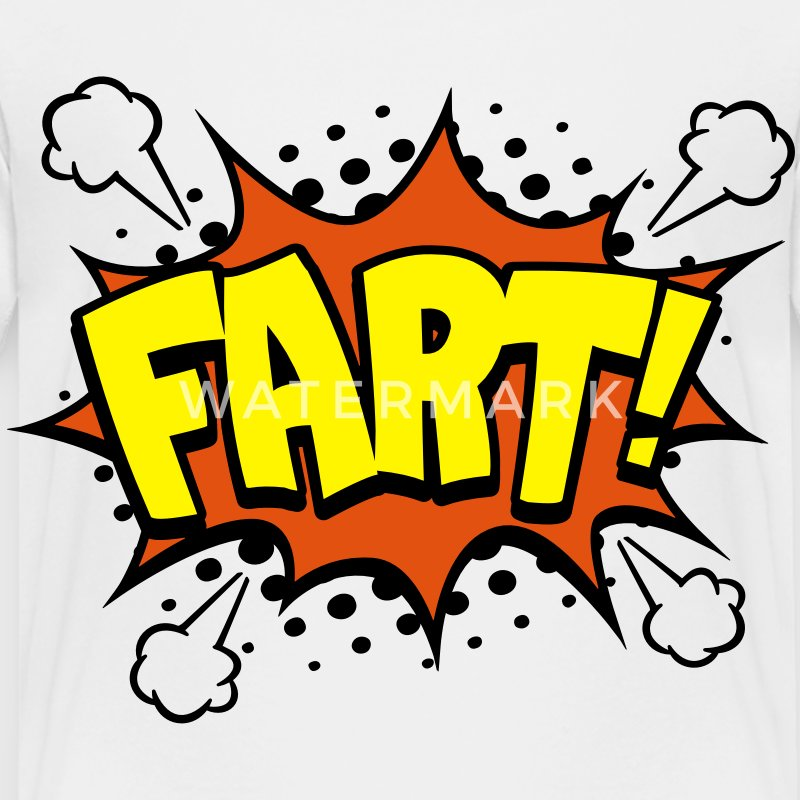 FART Comic Style Baby & Toddler Shirts - Toddler Premium T-Shirt