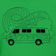 Design ~ Feynman Diagrams t-shirt   Richard Feynman's Van