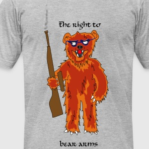 The right to bear arms - Men's T-Shirt by American Apparel