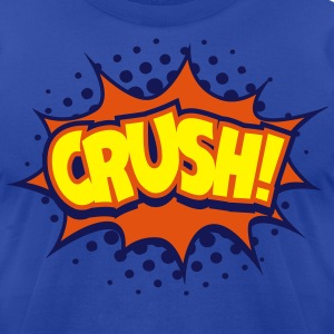 Crush! T-Shirts - Men's T-Shirt by American Apparel