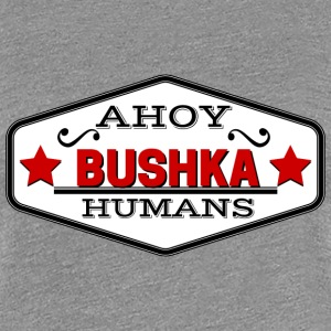 TRANSPARENT ahoy humans Women's T-Shirts - Women's Premium T-Shirt