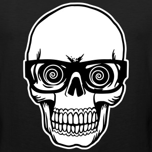 skull with glasses Sportswear - Men's Premium Tank