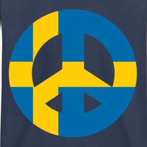 Swedish Peace Sign - Kids' Premium T-Shirt
