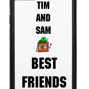 Septiceye Sam and Tiny Box Tim - iPhone 6/6s Rubber Case