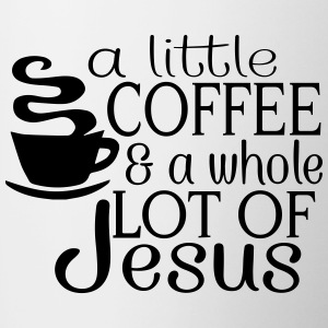 Lil' Coffee Lot of Jesus Mugs & Drinkware - Contrast Coffee Mug