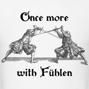 Once more, with Fuhlen men's T-shirt black print - Men's T-Shirt