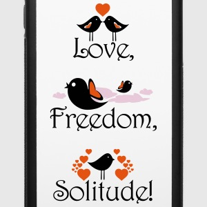 LoveFreedomSolitudeOshoT-shirts Accessories - iPhone 6/6s Rubber Case