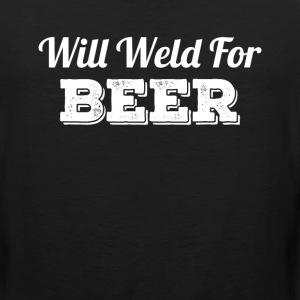 Will Weld For Beer Sportswear - Men's Premium Tank
