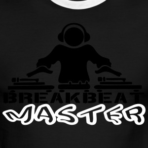 dj breakbeat master T-Shirts - Men's Ringer T-Shirt