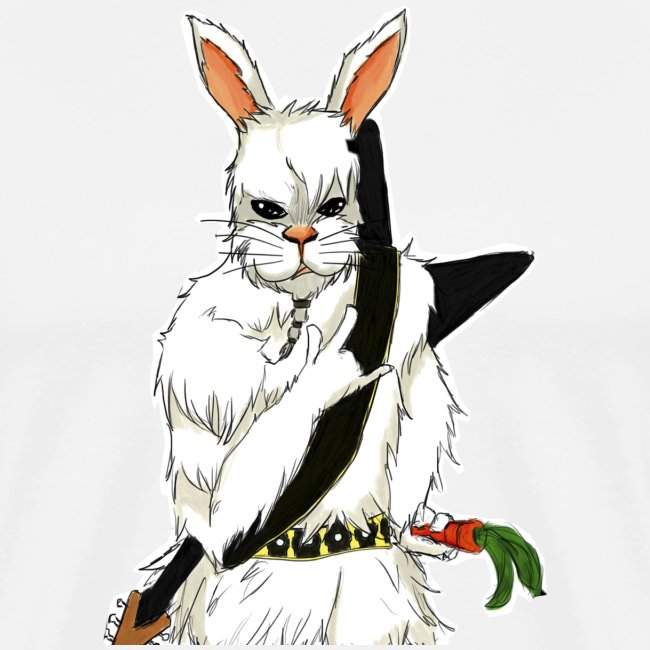 Rabbit Premium T-Shirt (Men)