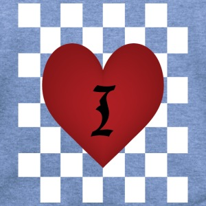 I heart Chess Long Sleeve Shirts - Women's Wideneck Sweatshirt