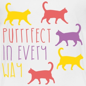AD Purrfect in every way Kids' Shirts - Kids' Premium T-Shirt