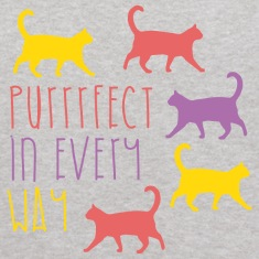 AD Purrfect in every way Sweatshirts