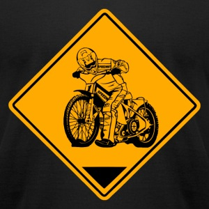 Speedway Road Sign T-Shirts - Men's T-Shirt by American Apparel