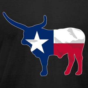 Texas Buffalo Flag T-Shirts - Men's T-Shirt by American Apparel