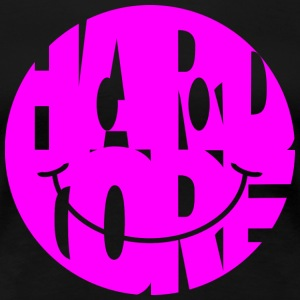 hardcore smiley magenta - Women's Premium T-Shirt