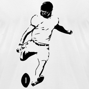 American Football Player T-Shirts - Men's T-Shirt by American Apparel