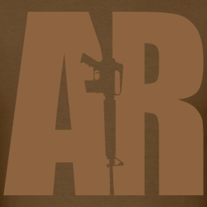 AR15 BEIGE - Men's T-Shirt