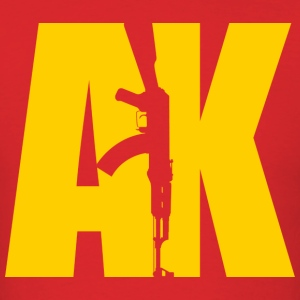 AK47 YELLOW - Men's T-Shirt
