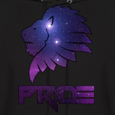 Galaxy Lion Pride Hoodies