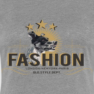 fashion-dog-oldstyle Women's T-Shirts - Women's Premium T-Shirt
