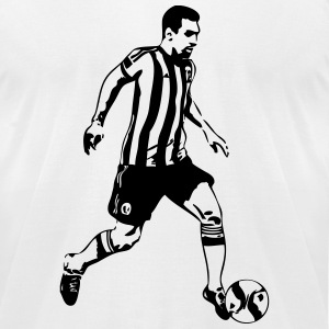 Soccer Player T-Shirts - Men's T-Shirt by American Apparel