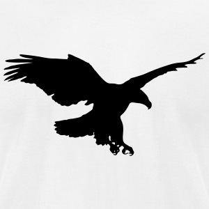 Eagle T-Shirts - Men's T-Shirt by American Apparel