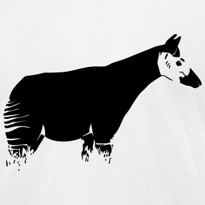 Okapi T-Shirts - Men's T-Shirt by American Apparel